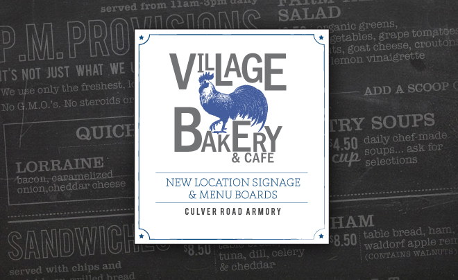 Village Bakery And Cafe Armory